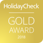 Gold Award HolidayCheck2018