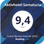 Booking 2016 Award